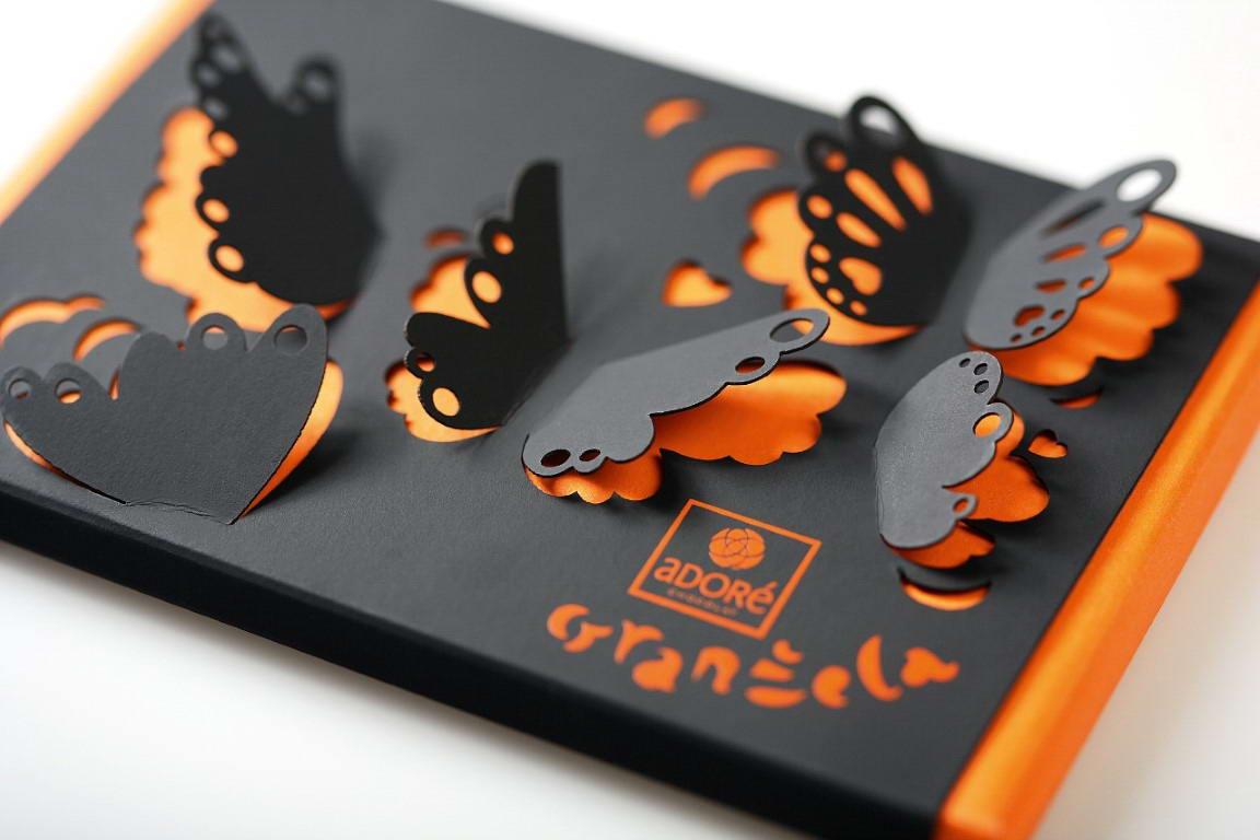 Лазерная резка и гравировка открытки, анимашка